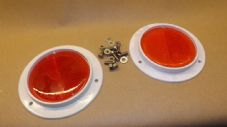 FV Red rear reflectors plus fitting kit.#1